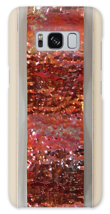 Abstract Galaxy S8 Case featuring the sculpture Hammered by Rick Roth