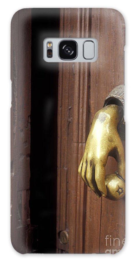 Mexico Galaxy S8 Case featuring the photograph Hand Door Knocker San Miguel De Allende Mexico by John Mitchell