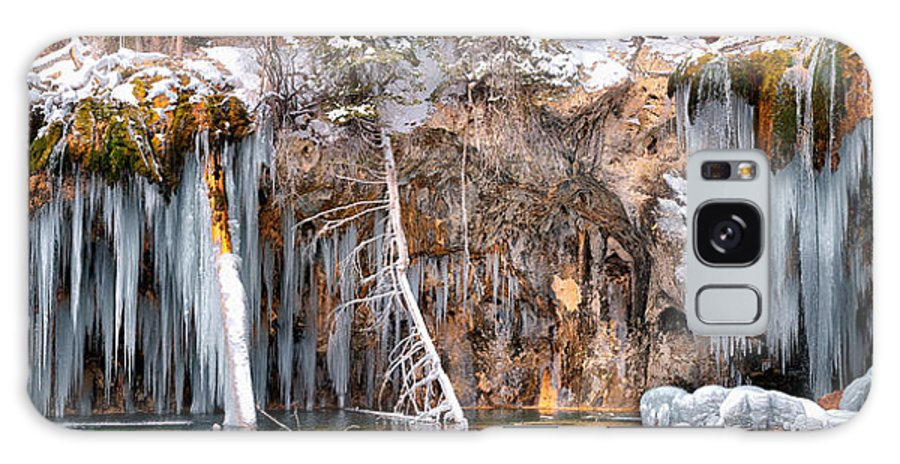 Hanging Lake Tunnel Galaxy S8 Case featuring the photograph Hanging Lake by OLena Art Lena Owens