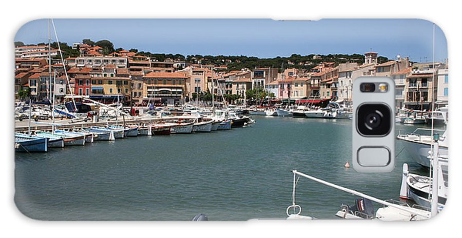 Harbor Galaxy S8 Case featuring the photograph Harbor Cassis by Christiane Schulze Art And Photography