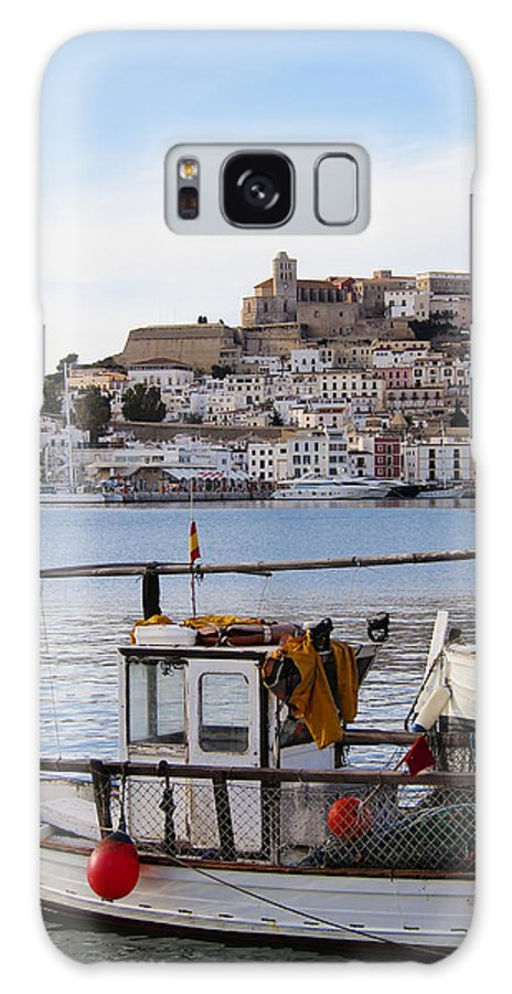 Mediterranean Galaxy S8 Case featuring the photograph Harbor In Ibiza Town by Karol Kozlowski