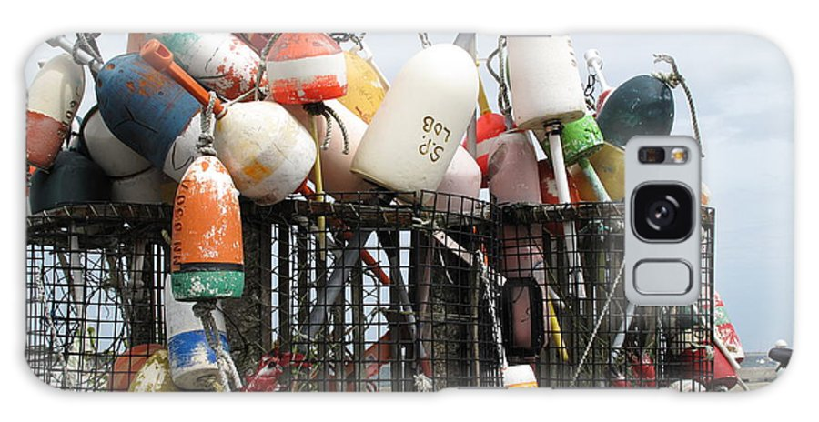 Buoys Galaxy S8 Case featuring the photograph Hard Working Buoys by Barbara McDevitt
