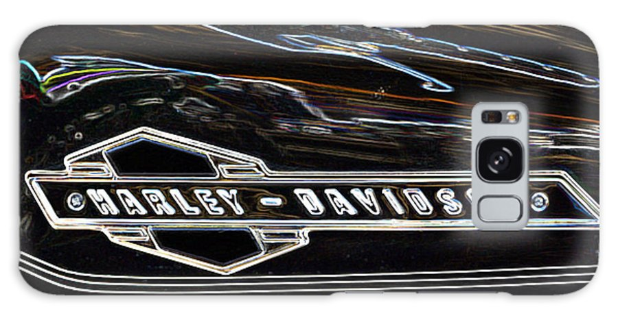 Harley Galaxy S8 Case featuring the photograph Harley Davidson 1 by Wendy Wilton