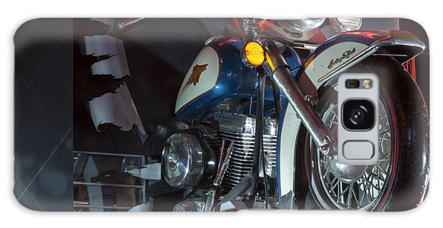 Las Vegas Nevada Harley Davidson Display Displays Motorcycle Motorcycles Store Stores Still Life Galaxy S8 Case featuring the photograph Harley Of Vegas by Bob Phillips