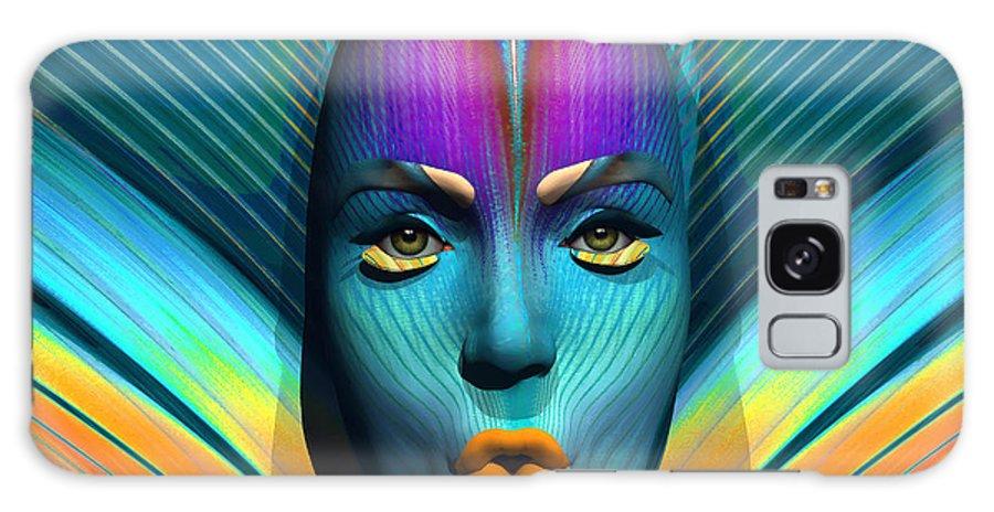 Digital Art Galaxy S8 Case featuring the digital art Harmonious Arrangement by Robert Maestas