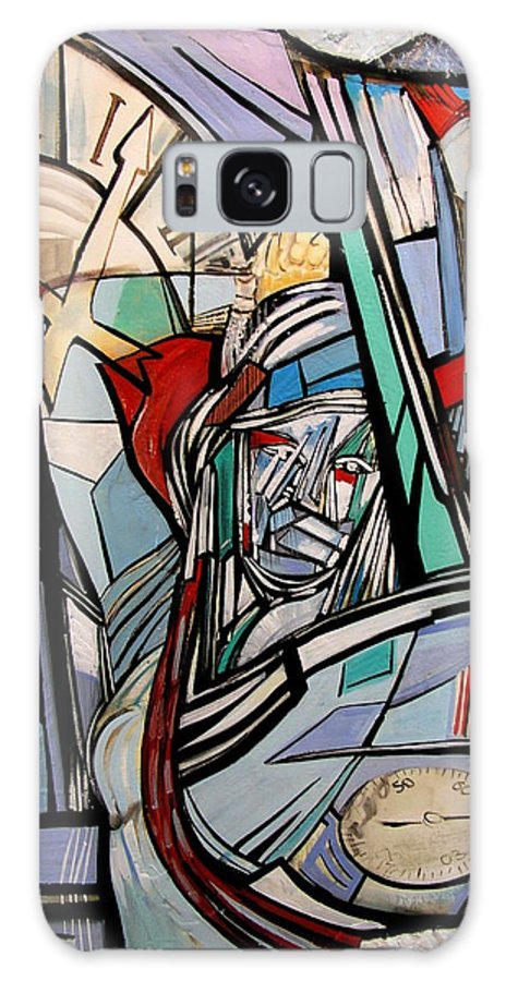 Fantasy Galaxy S8 Case featuring the painting Harmony by S-Roven Zokos