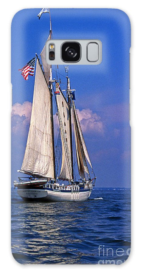 Maritime Galaxy S8 Case featuring the photograph Harvey Gamage by Skip Willits