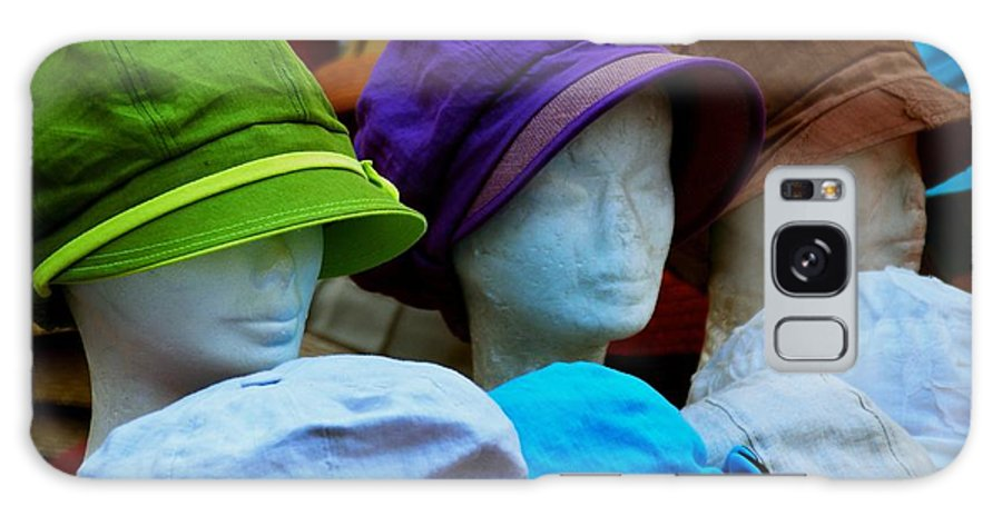 Hats Galaxy S8 Case featuring the photograph Hats For Sale by Eric Tressler