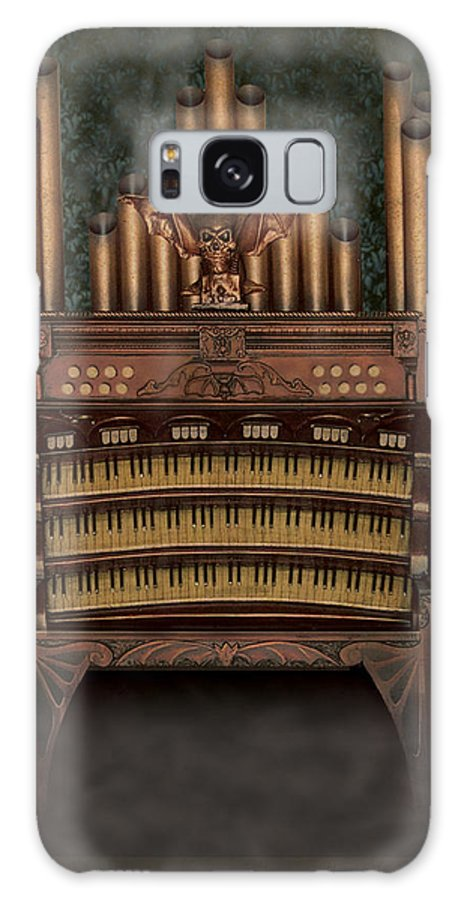 Halloween Galaxy S8 Case featuring the sculpture Haunted Pipe Organ by Bill Jonas
