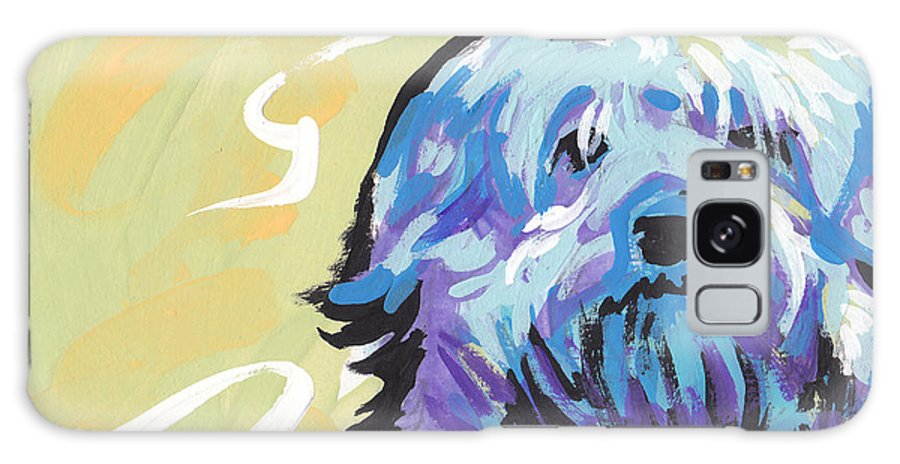 Havanese Galaxy S8 Case featuring the painting Have A Neese Day by Lea S