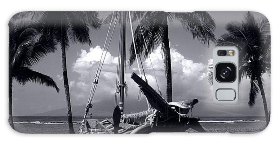Aloha Galaxy S8 Case featuring the photograph Hawaiian Sailing Canoe Maui Hawaii by Sharon Mau