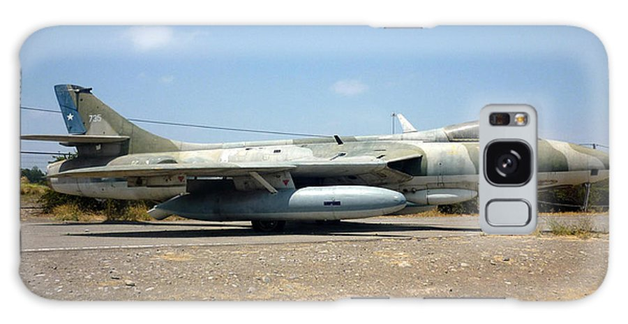 Hawker Hunter Fga 9 Fach 744 Galaxy S8 Case featuring the photograph Hawker Hunter Fga 9. Fach 744 by Ronald Osborne