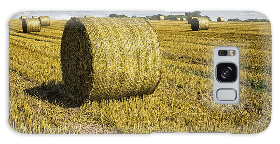 Wales Galaxy S8 Case featuring the photograph Hay Bales by Fran Gallogly