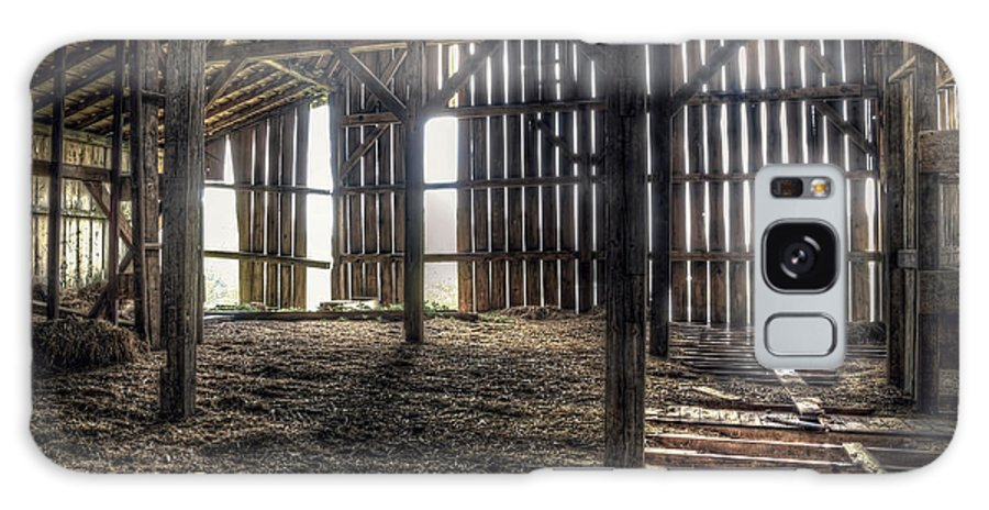 Barn Galaxy S8 Case featuring the photograph Hay Loft 2 by Scott Norris
