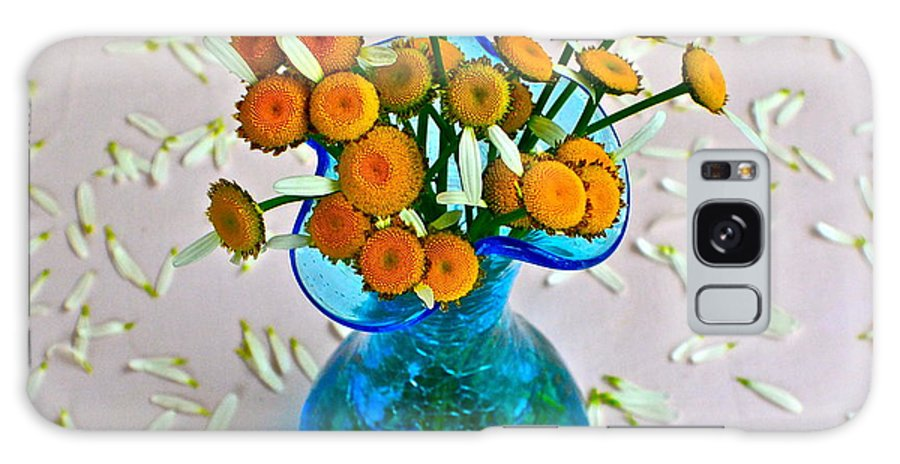 Flowers Galaxy S8 Case featuring the photograph He Loves Me Bouquet by Frozen in Time Fine Art Photography