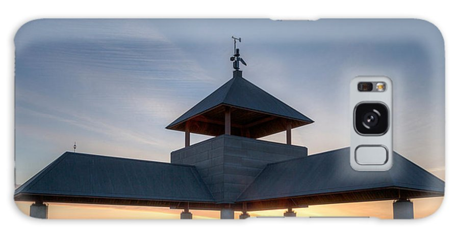 America Galaxy S8 Case featuring the photograph Head Island Pavillion by Susan Cole Kelly