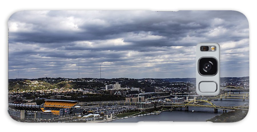 Three Rivers Stadium Galaxy S8 Case featuring the photograph Heading To The Game by Michelle Joseph-Long