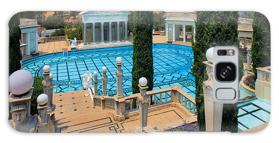 America Galaxy S8 Case featuring the photograph Hearst Castle Neptune Pool by Inge Johnsson