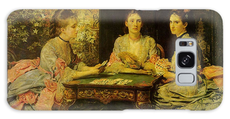 John Everett Millais Galaxy S8 Case featuring the digital art Hearts Are Trump by John Everett Millais
