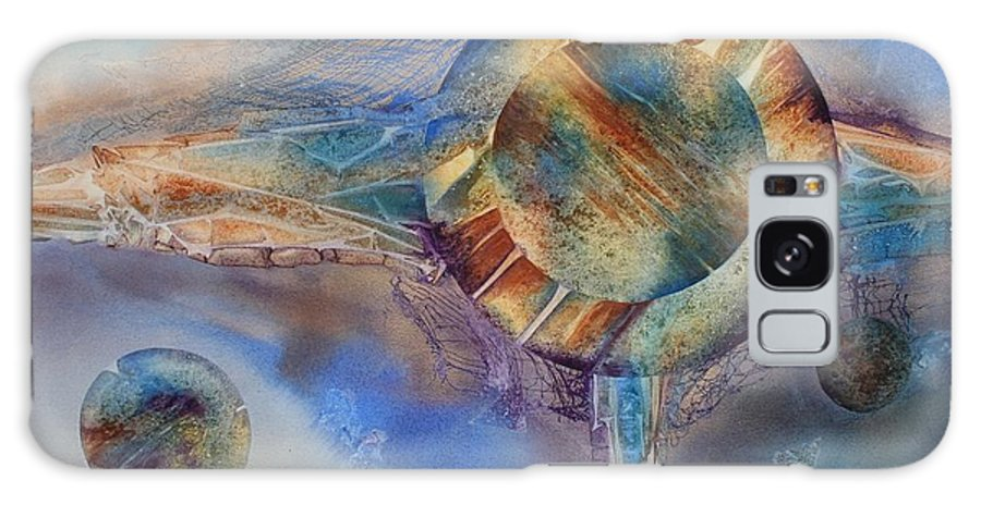 Spiritual Galaxy Case featuring the painting Heavens Gate by Tara Moorman