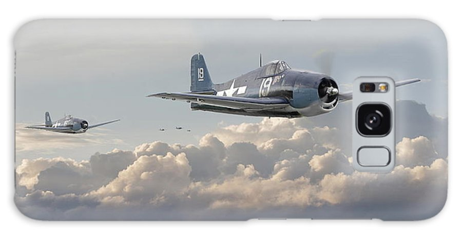 Aircraft Galaxy S8 Case featuring the photograph Hellcat F6f - Combat Air Patrol by Pat Speirs