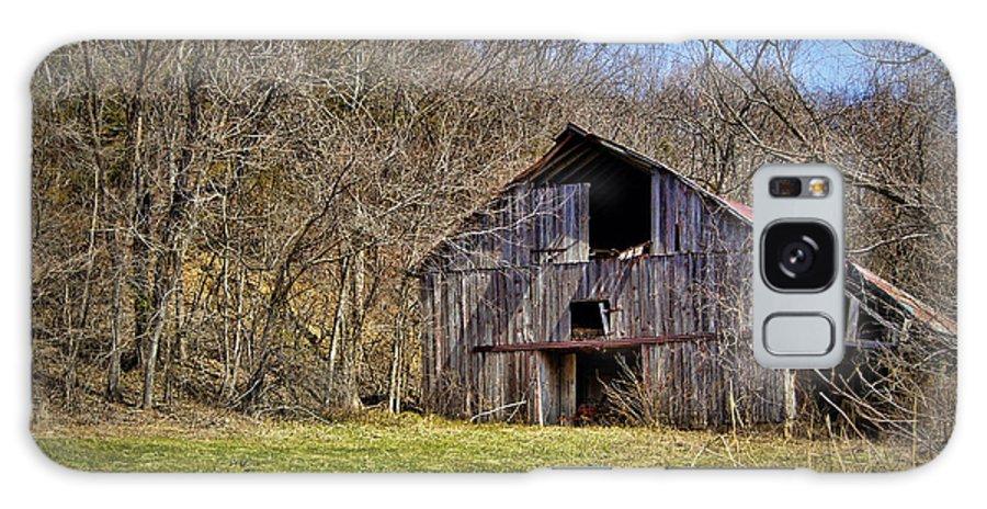 Barn Galaxy S8 Case featuring the photograph Hidden Barn by Cricket Hackmann