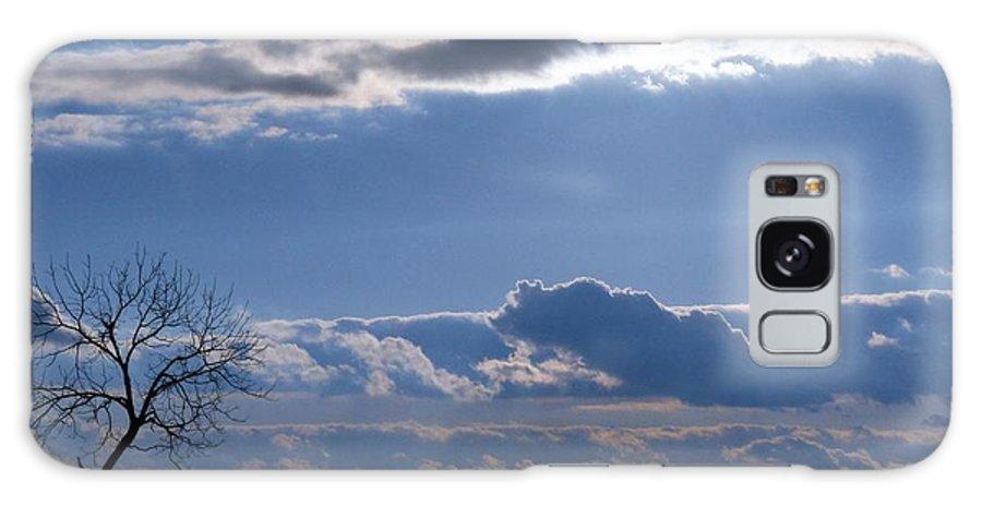 Sunset Galaxy S8 Case featuring the photograph Hidden Sun 2 by Teena Bowers