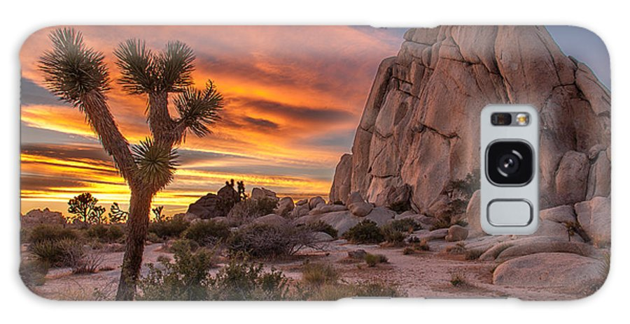California Galaxy S8 Case featuring the photograph Hidden Valley Rock - Joshua Tree by Peter Tellone
