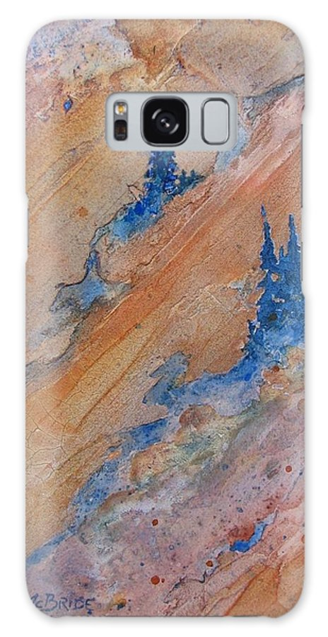 Abstract Galaxy S8 Case featuring the painting High Country by Ken McBride