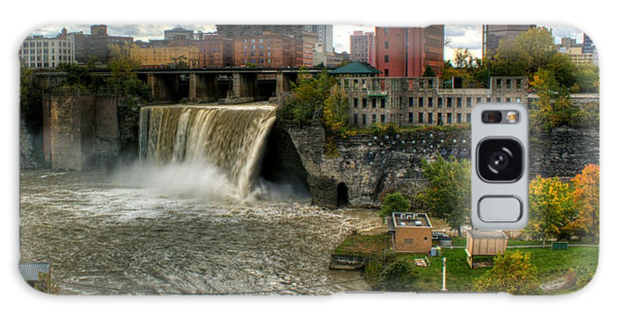 High Falls Galaxy S8 Case featuring the photograph High Falls by Tim Buisman