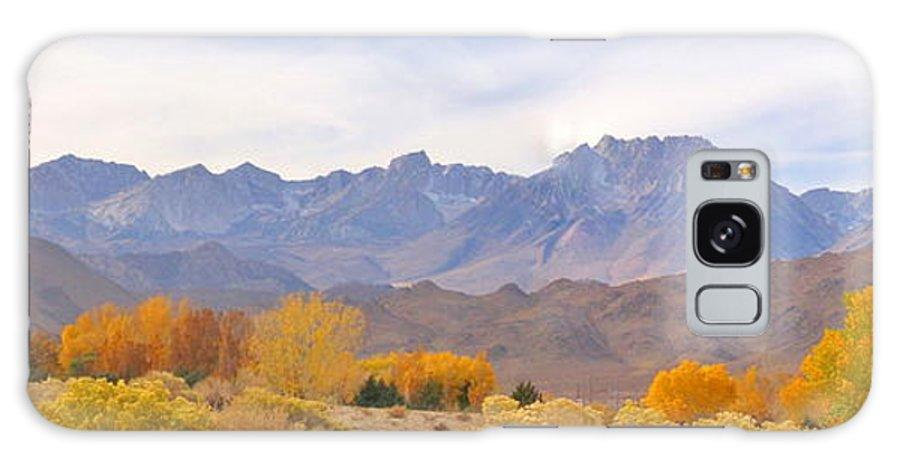 Sky Galaxy S8 Case featuring the photograph High Sierra Autumn by Marilyn Diaz
