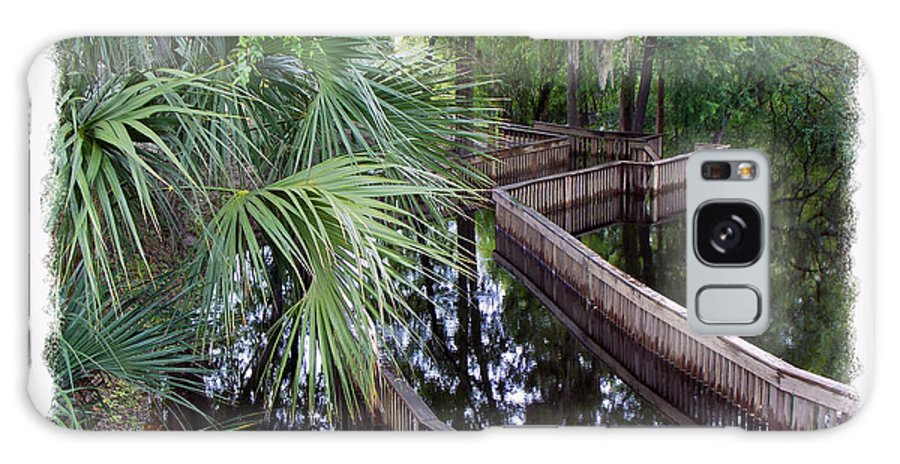 Suwannee Galaxy S8 Case featuring the photograph Highwater Reflection by Sheri McLeroy