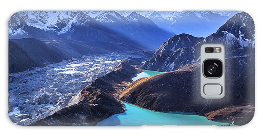 Tranquility Galaxy Case featuring the photograph Himalaya Landscape, Gokyo Ri by Feng Wei Photography
