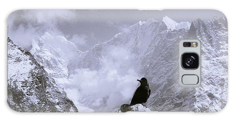 Himalaya Galaxy S8 Case featuring the photograph Himalayan Freedom by Shaun Higson