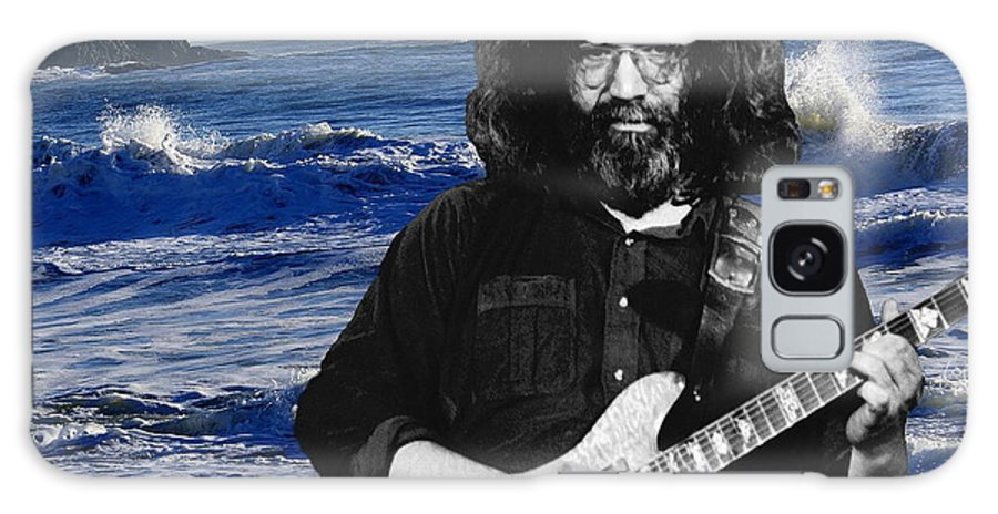 Jerry Garcia Galaxy S8 Case featuring the photograph His Fans Are Out Of This World by Ben Upham