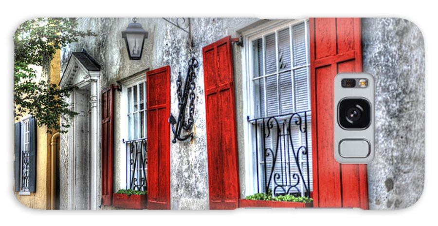 Historic Galaxy S8 Case featuring the photograph Historic Charleston Pirates House by Dale Powell