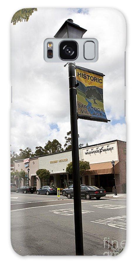 Saratoga Galaxy S8 Case featuring the photograph Historic Saratoga Village by Jason O Watson