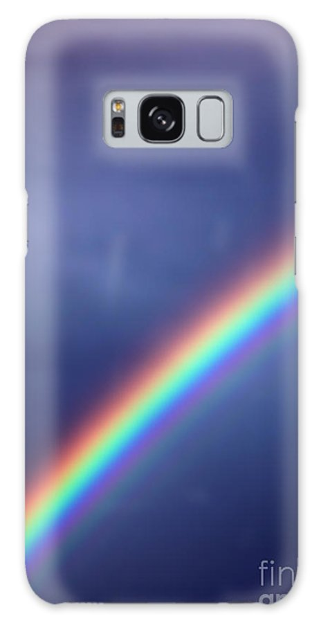 Rainbow Galaxy S8 Case featuring the photograph Hold On For Hope by Amanda Barcon