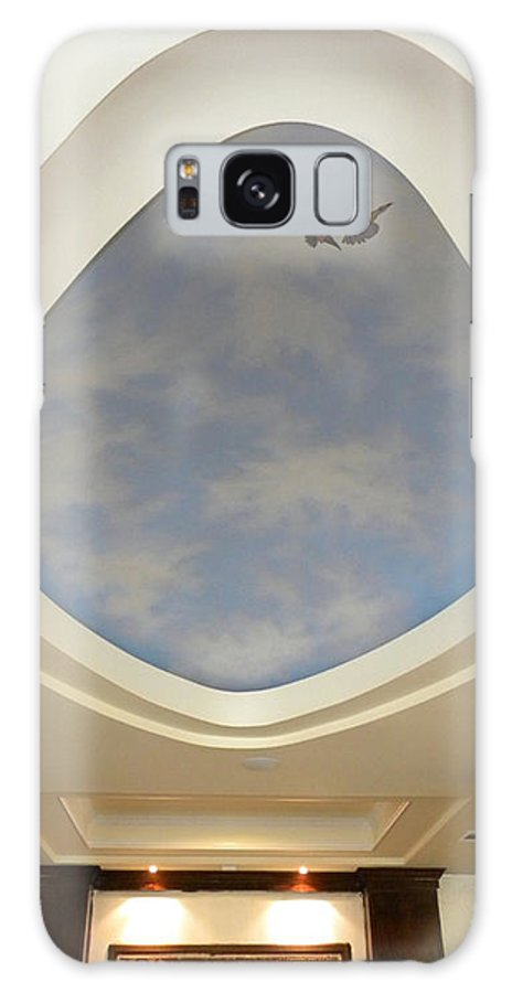 Murals Galaxy S8 Case featuring the painting Holiday Inn Express Ceiling Dome Mural by Frank Wilson