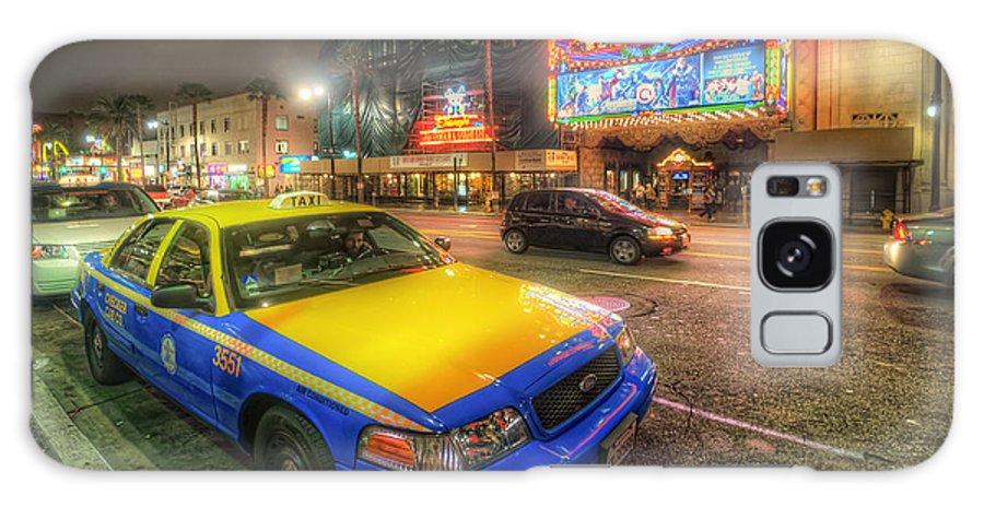 Yhun Suarez Galaxy S8 Case featuring the photograph Hollywood Taxi by Yhun Suarez