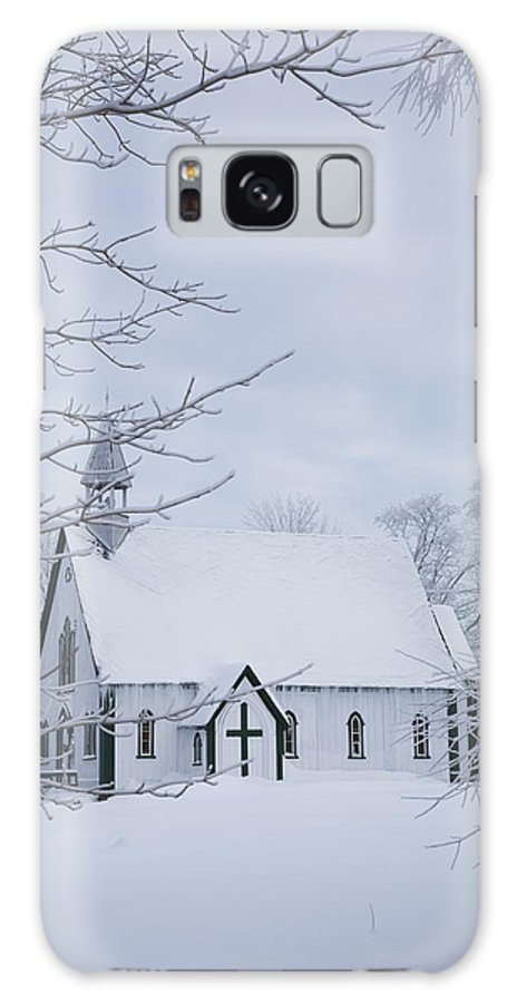 Light Galaxy S8 Case featuring the photograph Holy Trinity Anglican Church And by Perry Mastrovito