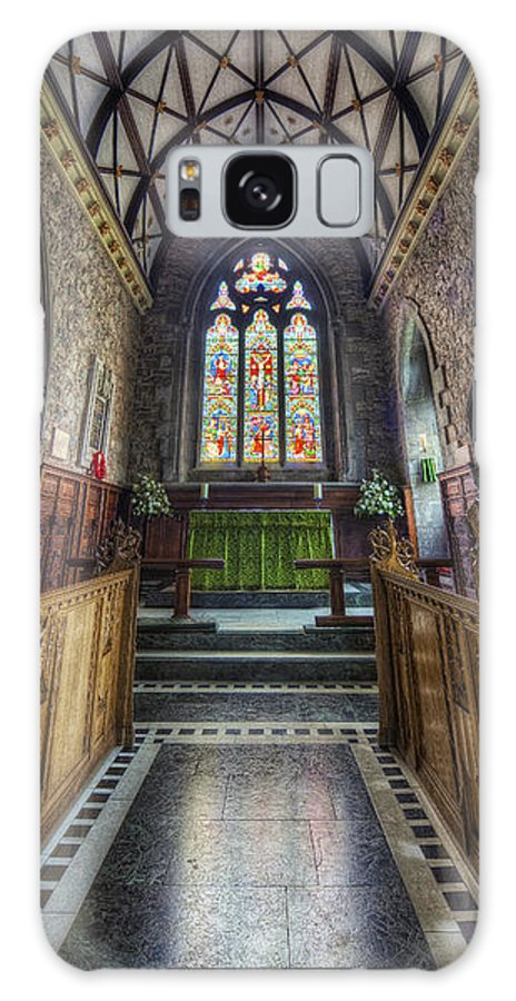 Church Galaxy S8 Case featuring the photograph Holy Trinity Church Vertotama by Ian Mitchell