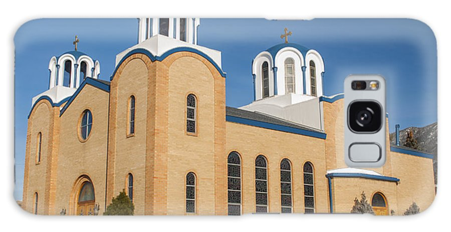 Holy Trinity Orthodox Christian Church Galaxy S8 Case featuring the photograph Holy Trinity Orthodox Christian Church by Fran Riley