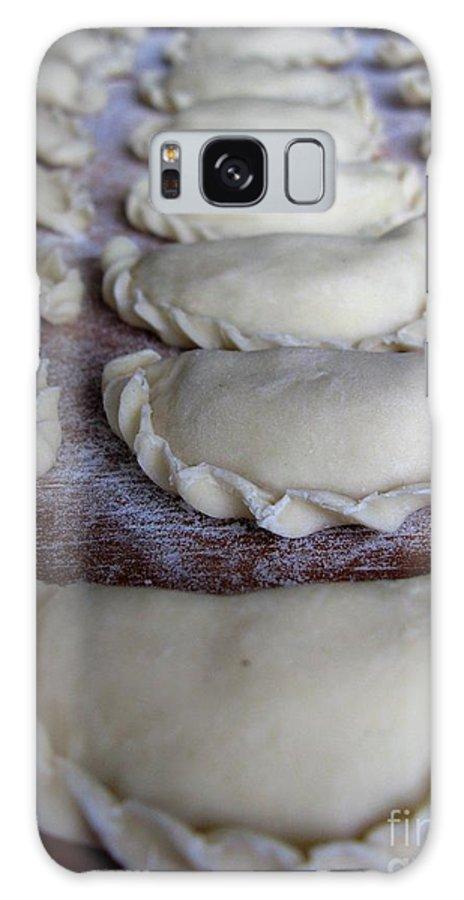 Homemade Dumplings Galaxy S8 Case featuring the photograph Homemade Lithuanian Dumplings by Ausra Huntington nee Paulauskaite