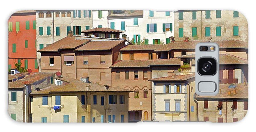 Cortona Galaxy S8 Case featuring the photograph Homes In Cortona by David Letts