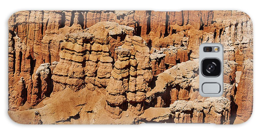 Hoodoos Landscape Photograph At Bryce Canyon Galaxy S8 Case featuring the digital art Hoodoos Abstract by Mae Wertz