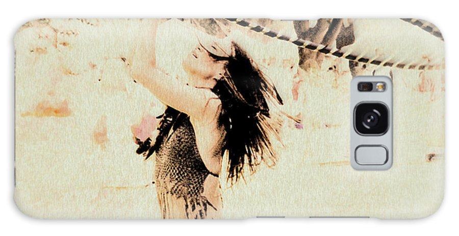 Hoop Dancer Galaxy S8 Case featuring the photograph Hoop Dancer by Kathy Bassett