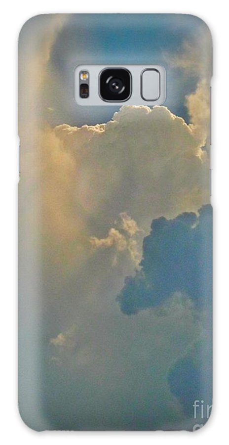 Illusion Galaxy S8 Case featuring the photograph Horse Head Cloud by John Malone
