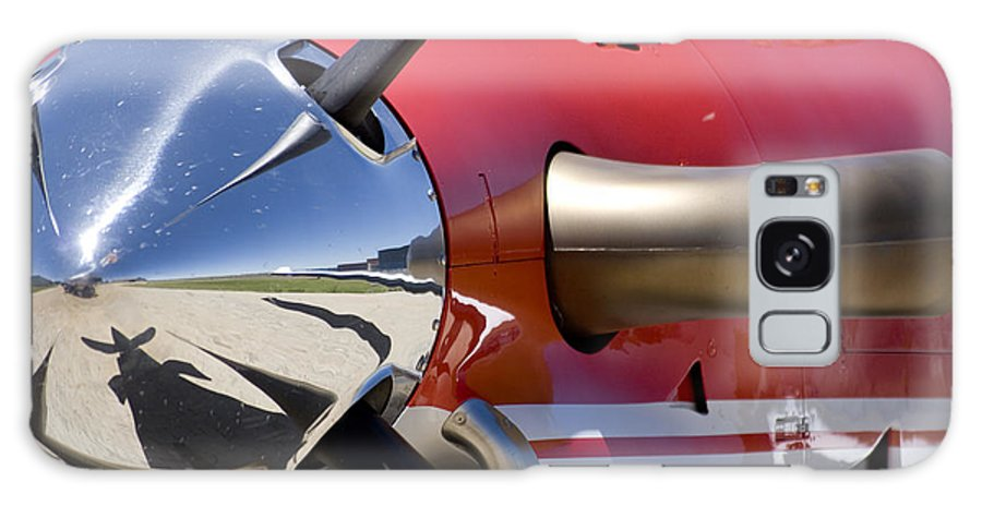 Pilatus Pc 12 Golden Eagle Galaxy S8 Case featuring the photograph Horsepower by Paul Job