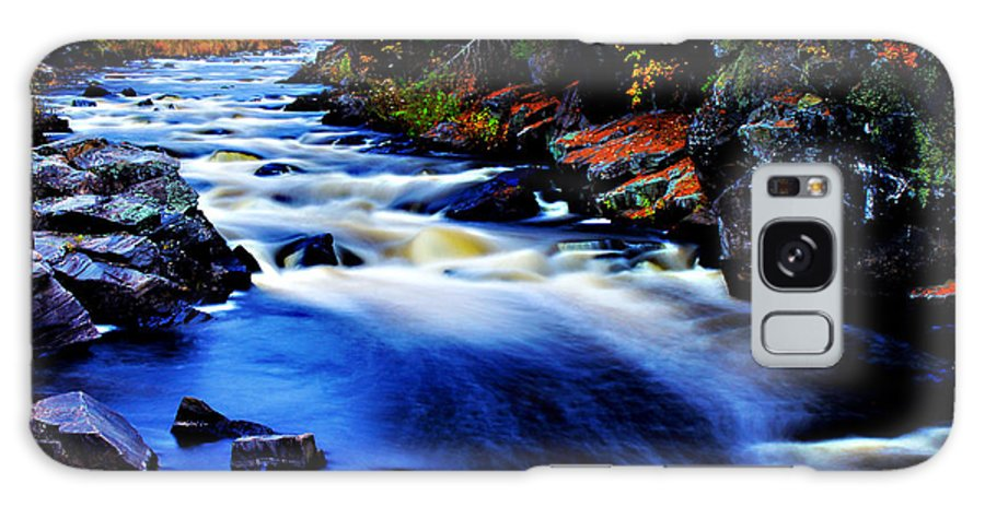 Horserace Rapids Galaxy S8 Case featuring the photograph Horserace Rapids In Autumn by Matthew Winn